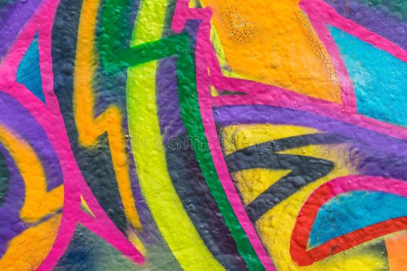 Mundo dos grafittis ilustração do vetor