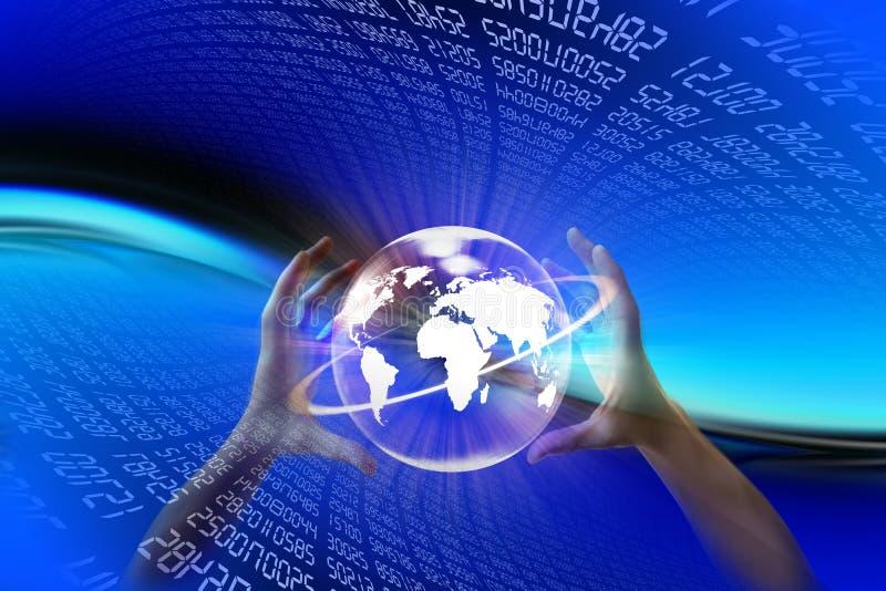 Mundo eletrônico imagens de stock royalty free