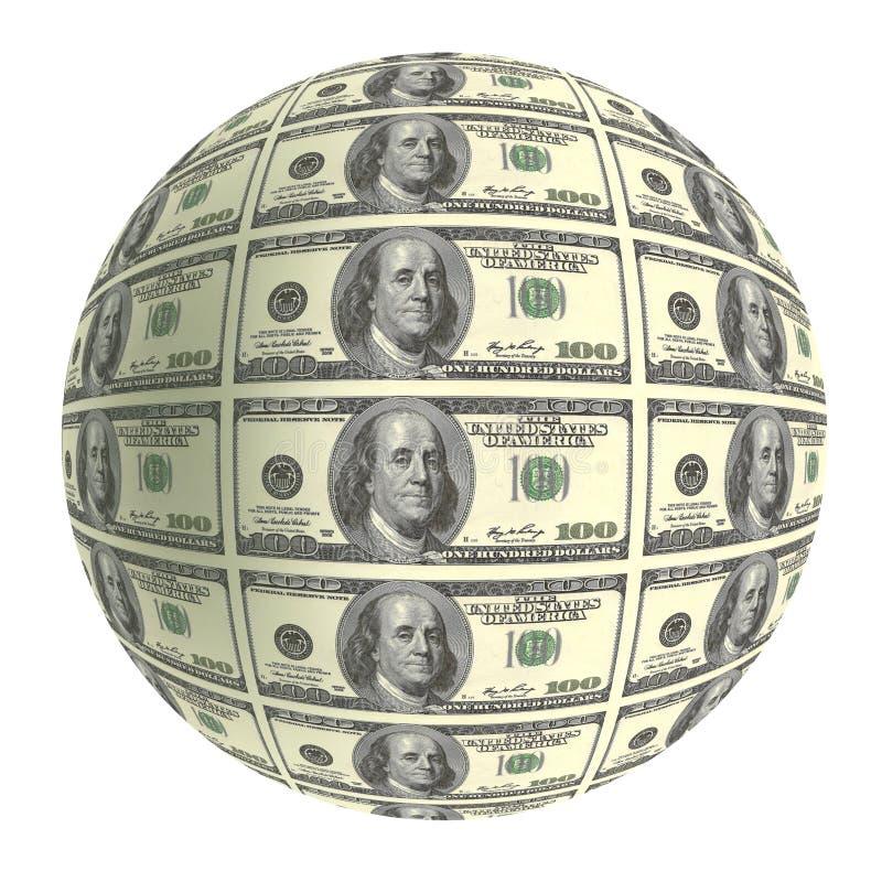 Mundo financeiro ilustração stock
