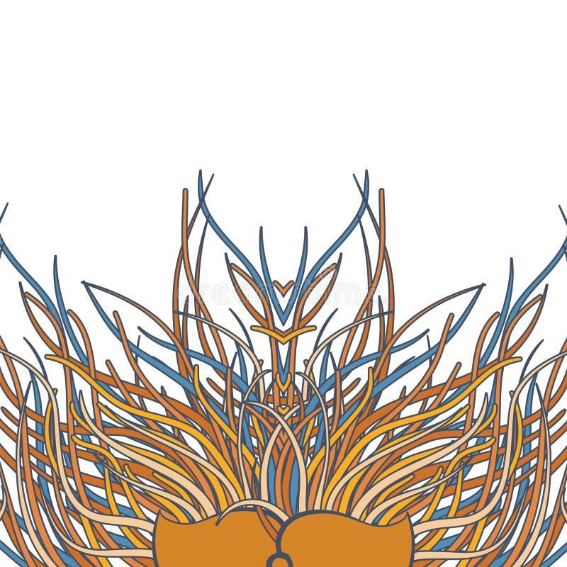 Download Mundo floral del verano ilustración del vector. Ilustración de floral - 42446409