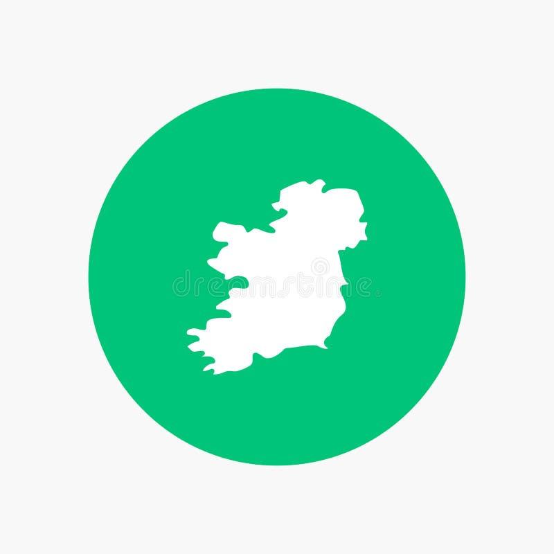 Mundo, mapa, Irlanda libre illustration