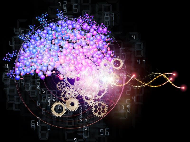 Mundo molecular libre illustration