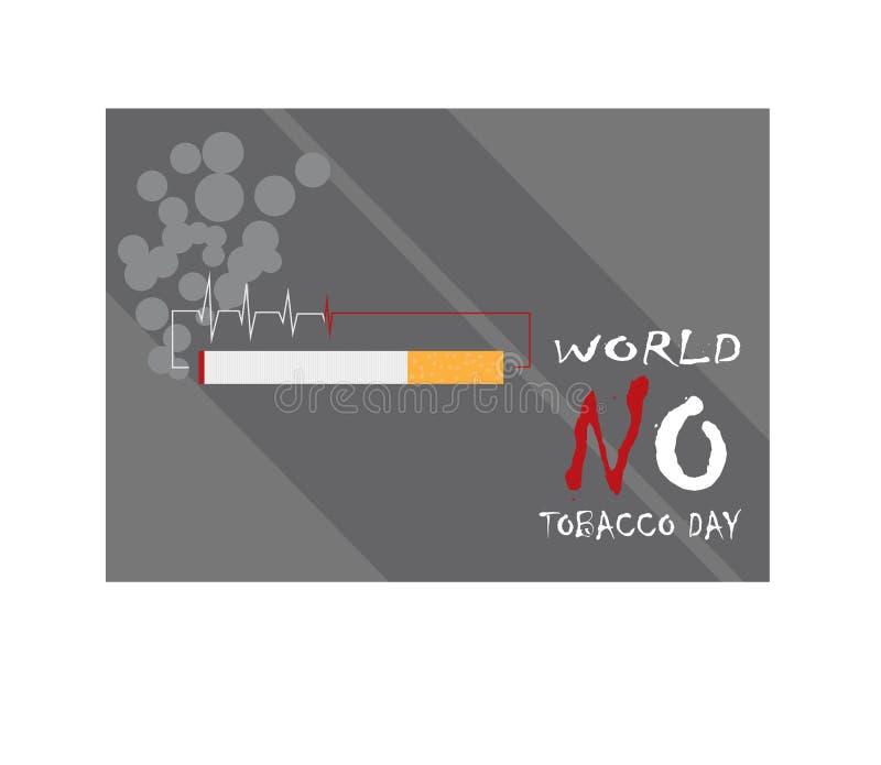 Mundo não fumadores imagens de stock