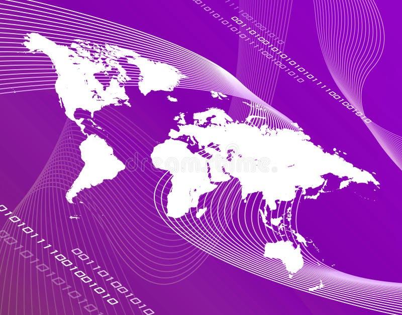 Mundo púrpura libre illustration