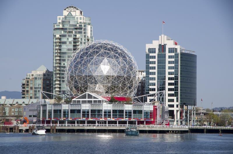 Mundo Vancouver Canadá de la ciencia imagenes de archivo
