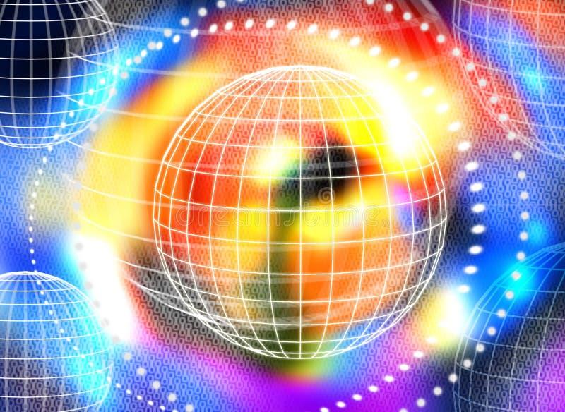 Download Mundos ilustração stock. Ilustração de sumário, mundo, planeta - 105894