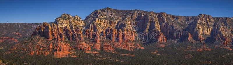 Munds Mountain Panorama stock photography