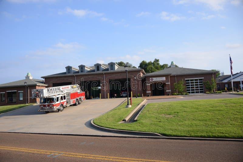 Munford Tennessee Fire Department imagem de stock