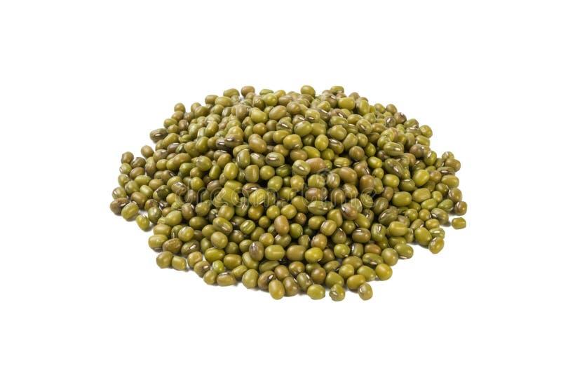 Mung ή Mungo σωρός που απομονώνεται στο άσπρο υπόβαθρο διατροφή βιο Φυσικό συστατικό τροφίμων στοκ φωτογραφία με δικαίωμα ελεύθερης χρήσης