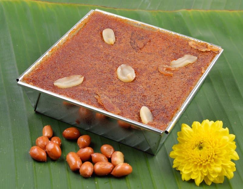 Mung ταϊλανδικό επιδόρπιο κρέμας φασολιών στοκ εικόνα
