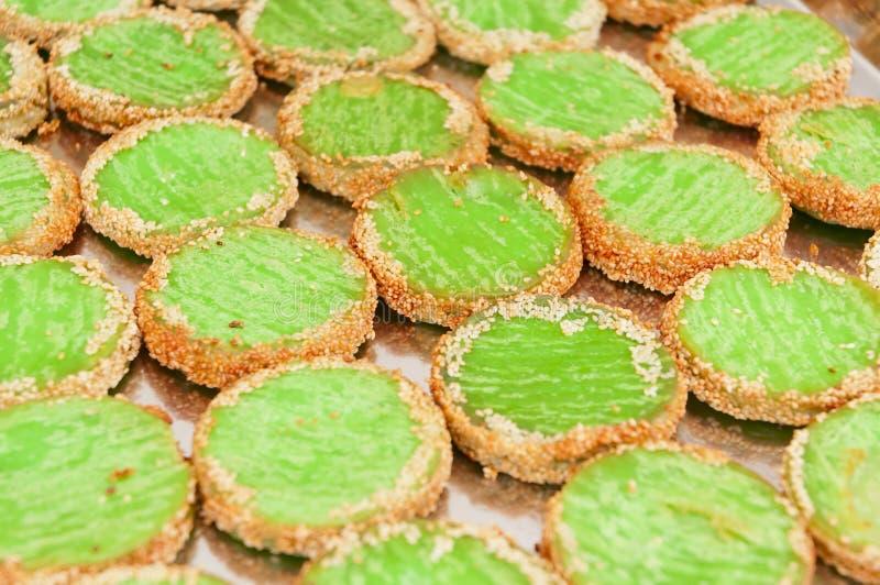 Mung Bean Cake Royalty Free Stock Photos