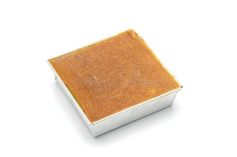 Mung Bean Thai Custard Dessert arkivfoton