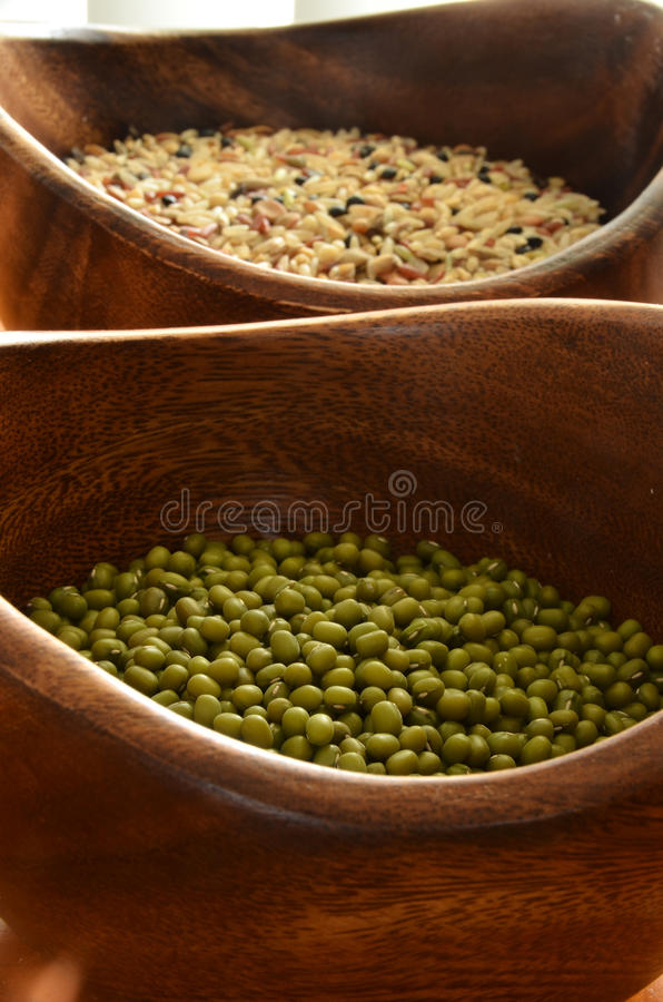 Download Mung Beans and Rice stock image. Image of mung, meal - 25129255