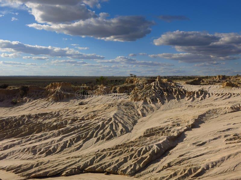 Mungo εθνικό πάρκο, NSW, Αυστραλία στοκ εικόνες με δικαίωμα ελεύθερης χρήσης
