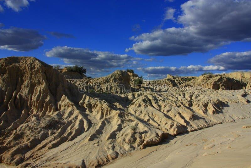 Mungo εθνικό πάρκο, NSW, Αυστραλία στοκ φωτογραφία με δικαίωμα ελεύθερης χρήσης
