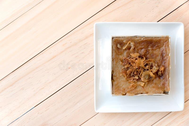 Mungobohne thailändisches Vanillepudding-Nachtisch-Rezept lizenzfreie stockfotos