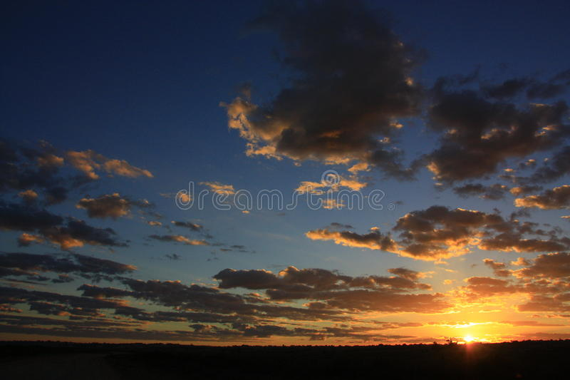 Mungonationalpark, NSW, Australien royaltyfria foton