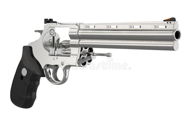 Munição da arma de fogo do revólver ilustração stock