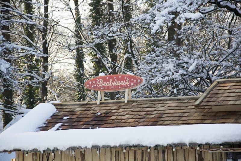 Munic. Christmas market in munic bavaria royalty free stock photo