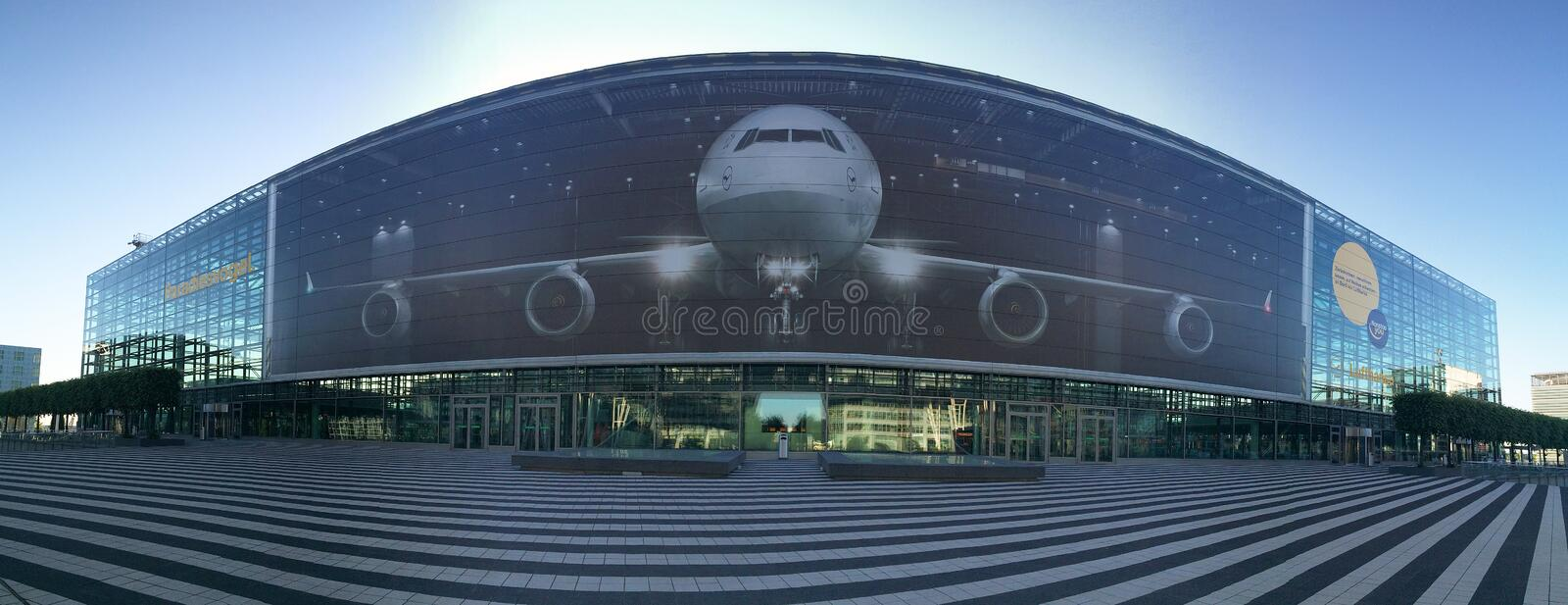 Munich Airport stock images