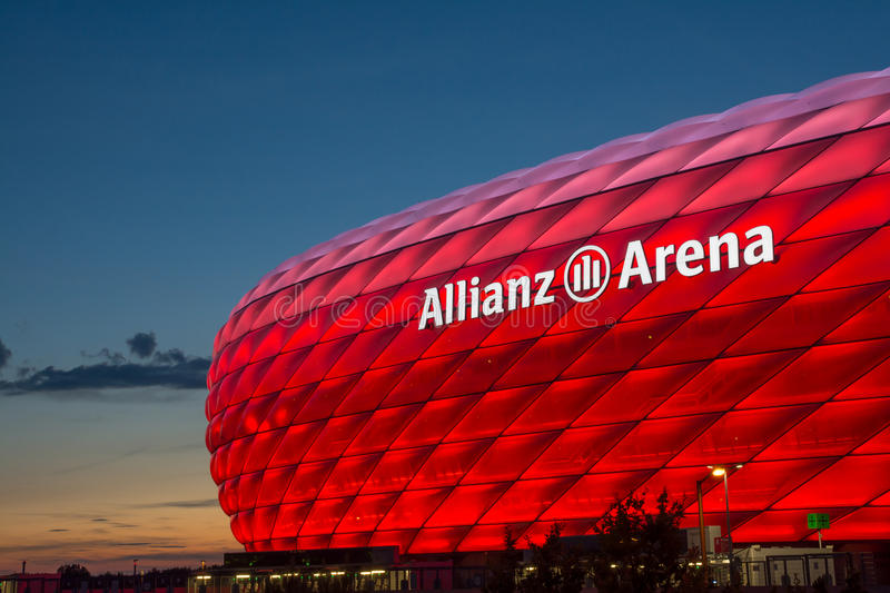 Munich Alianz Arena Stadium royalty free stock images