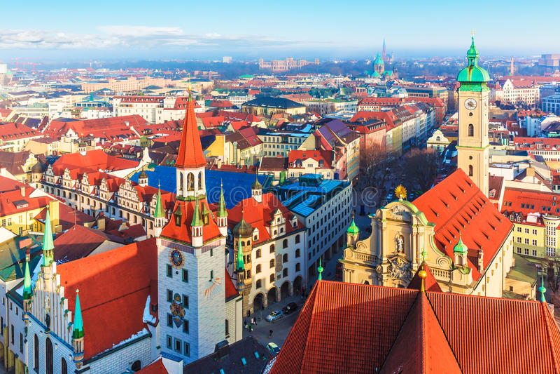 Munich, Allemagne photographie stock libre de droits