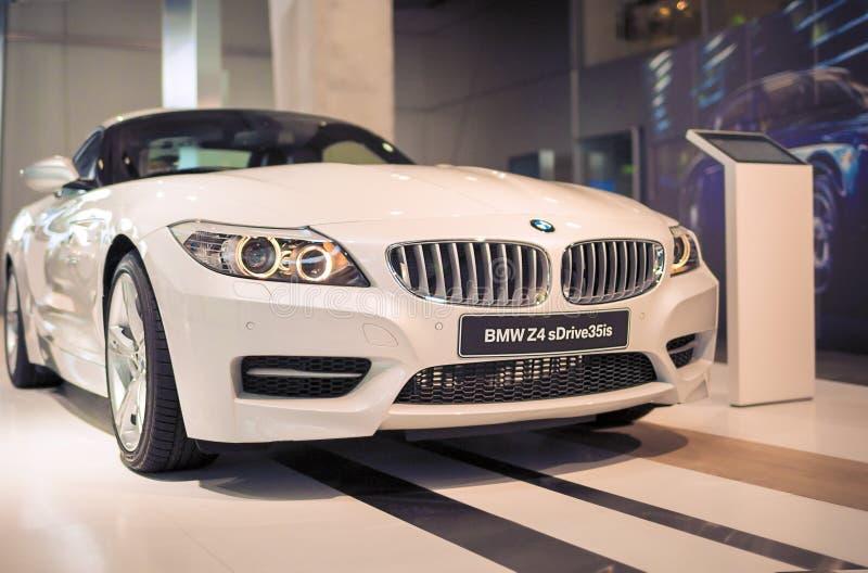 Munich, Allemagne 17 juin 2012 : Coup sDrive du roadster 35is de BMW Z4 images libres de droits