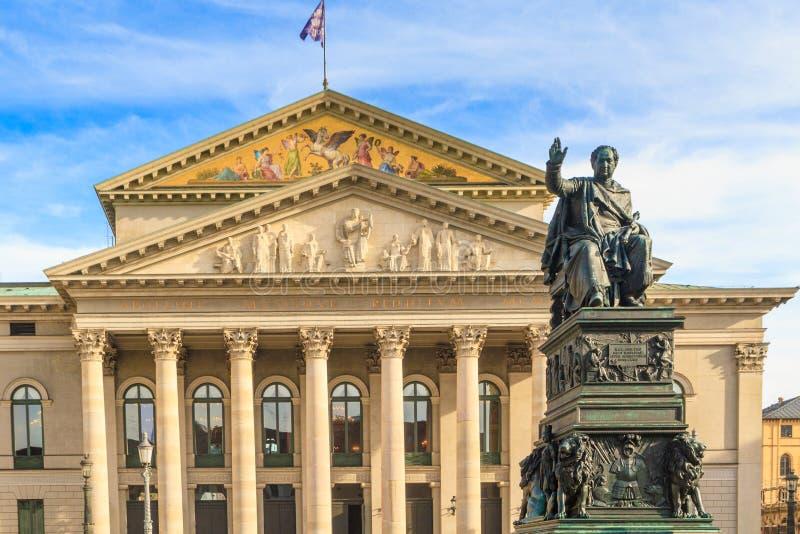 Munich, Bayerische Staatsoper photo stock