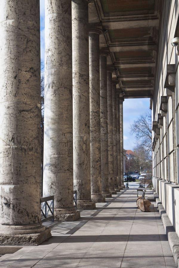 Munich, casa de Kunst del der de Haus del museo de arte moderno del arte, archite fotos de archivo libres de regalías