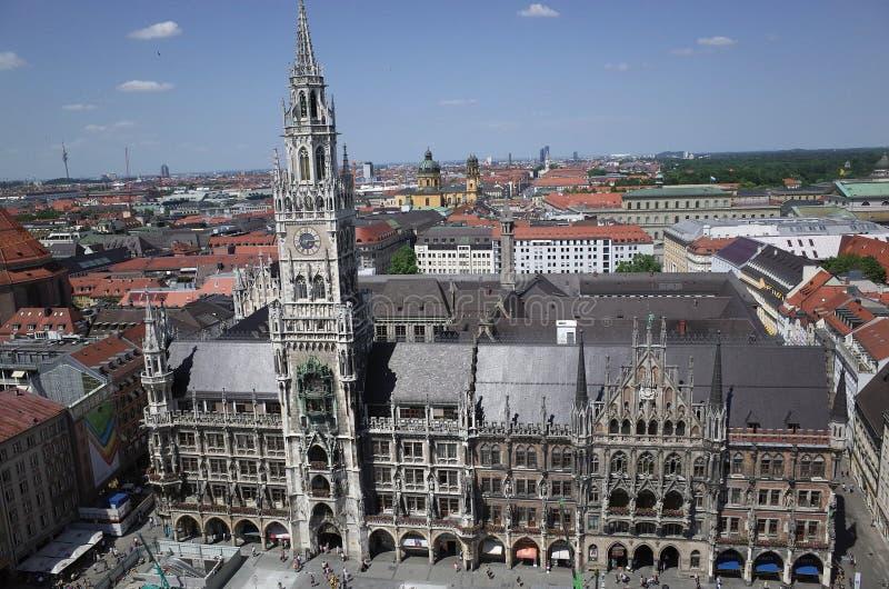 Munich City Hall royalty free stock photos