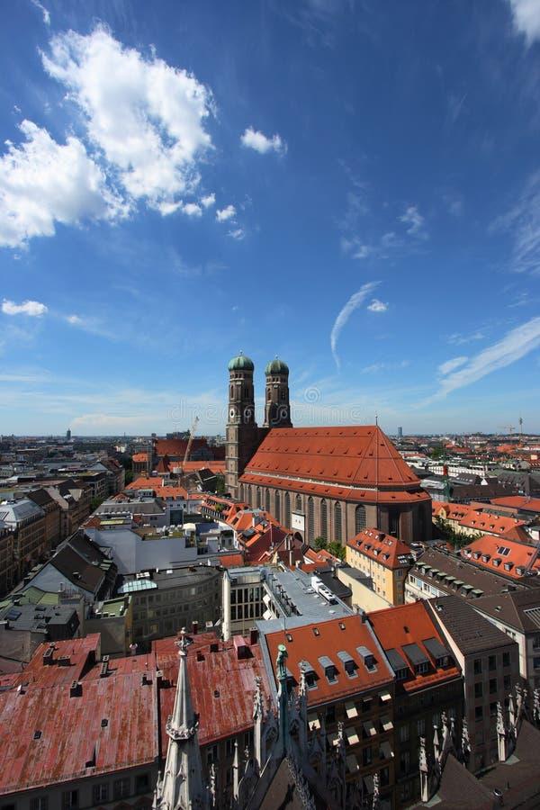 Munich cityscape stock image