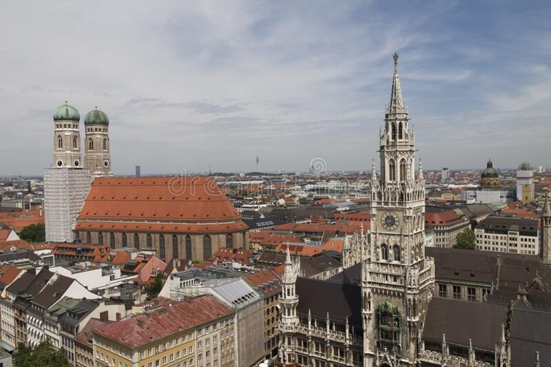 Munich Cityscape, Germany Free Public Domain Cc0 Image