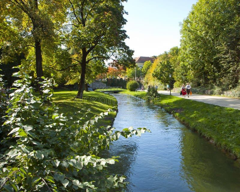 Munich, Englischer Garten imagenes de archivo
