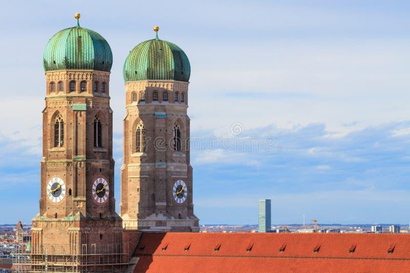 Munich, Frauenkirche, Bavaria, Germa stock photo