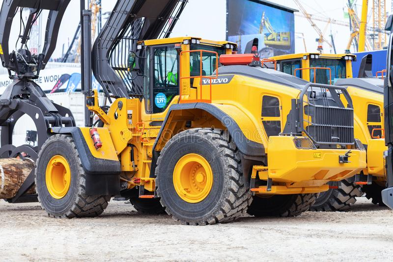 Excavator Volvo Stock Images - Download 171 Royalty Free Photos