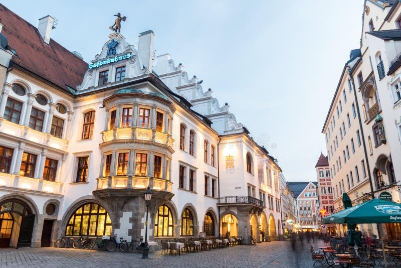 Munich Hofbrauhaus foto de archivo libre de regalías