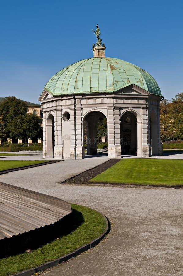 Munich Hofgarten stock photography