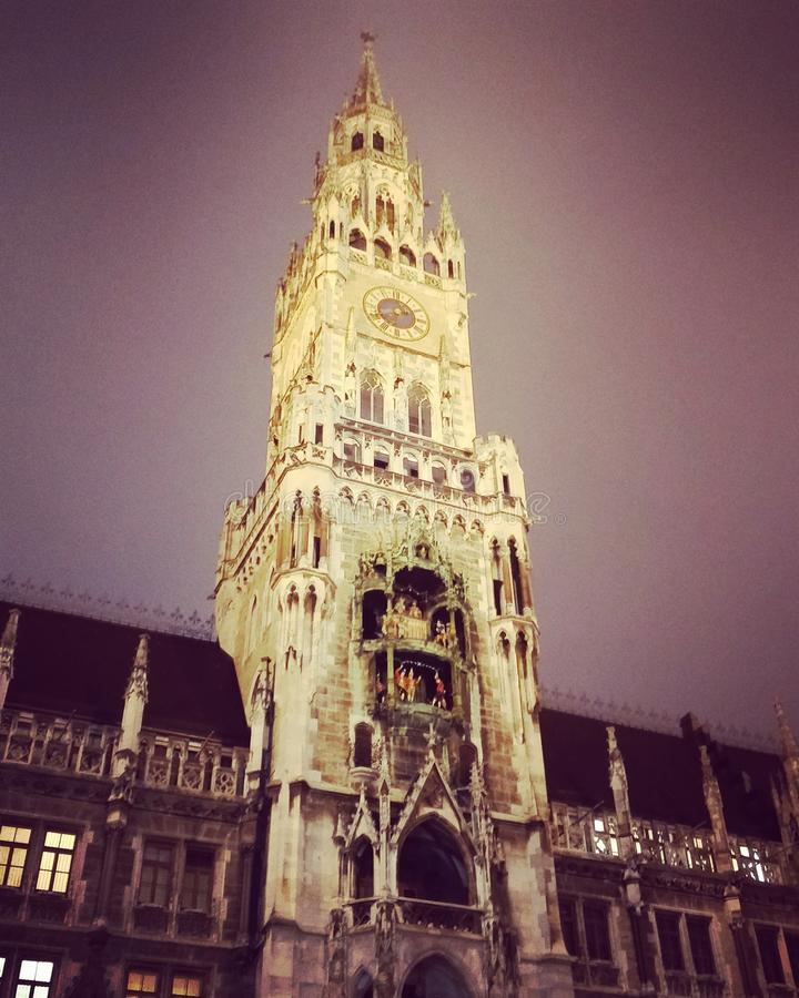 Munich, Marienplatz imagens de stock