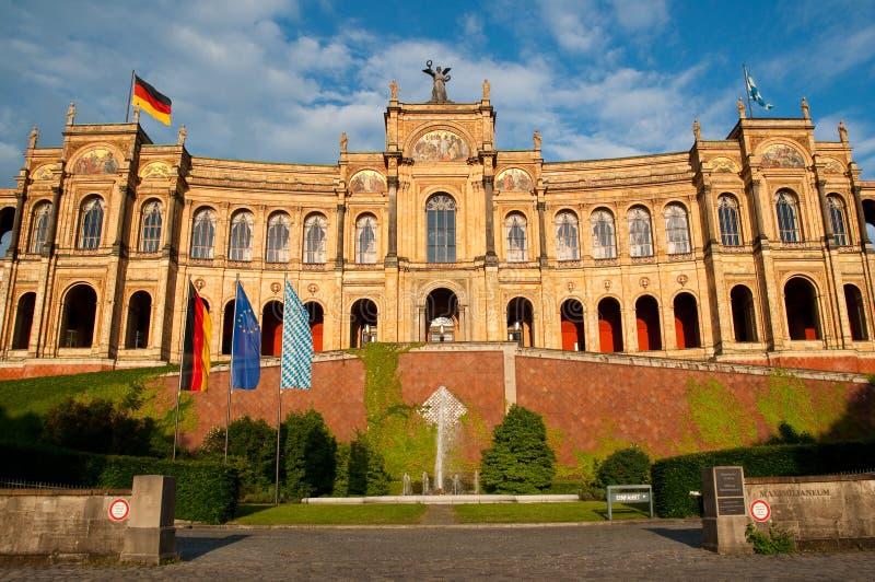 Munich Maximilianeum imagens de stock royalty free