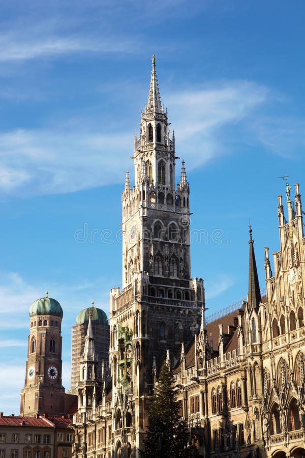 Munich Neues Rathaus photo stock