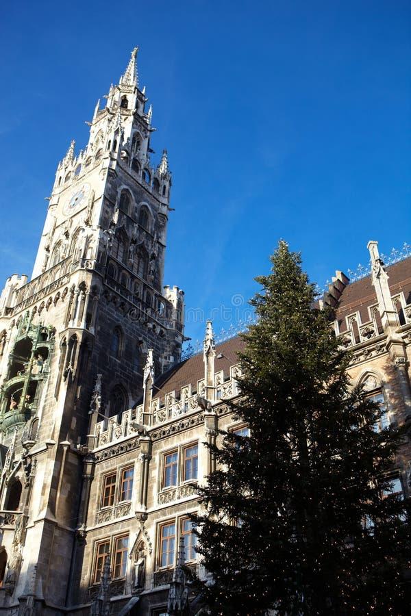 Munich Neues Rathaus foto de archivo libre de regalías