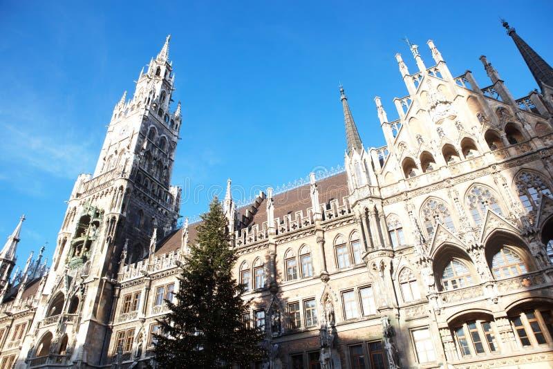Munich Neues Rathaus imagem de stock
