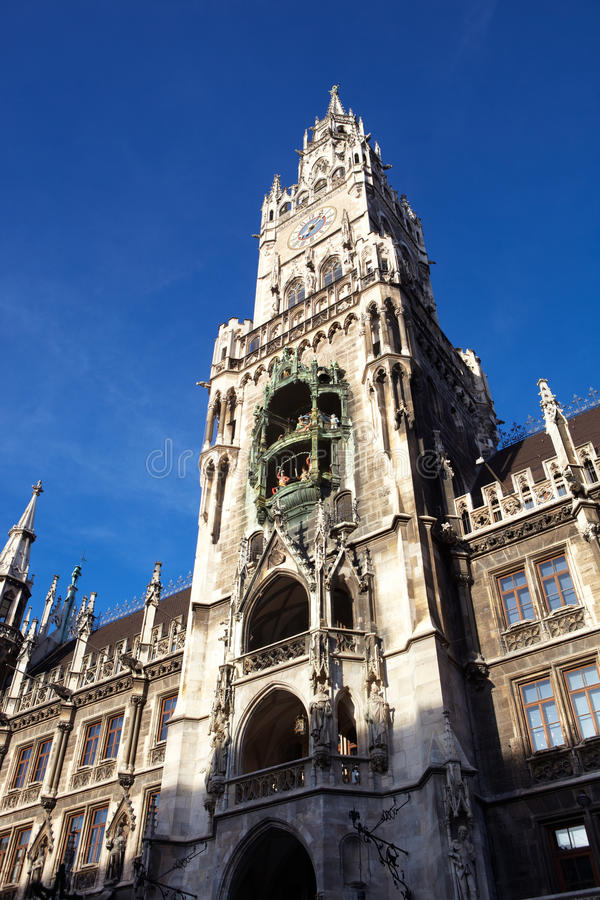 Munich Neues Rathaus photo libre de droits