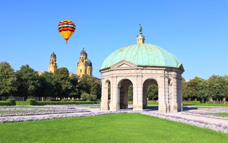 munich odeonsplatz residenz obrazy royalty free