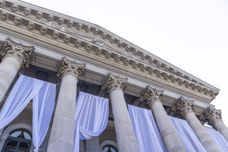Munich operahus royaltyfria bilder