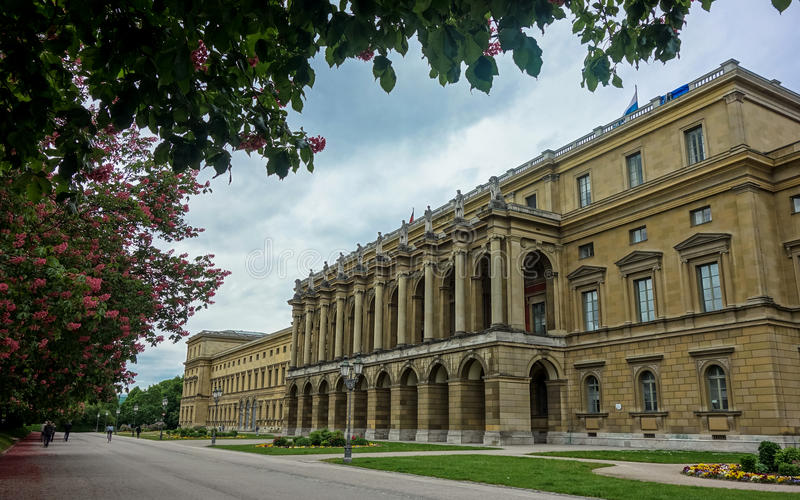 Munich Residenz de Munich, Alemanha fotografia de stock royalty free