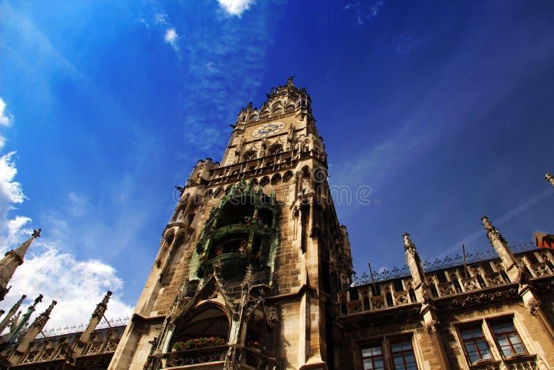 Munich stadshus royaltyfria foton