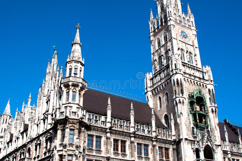 Download Munich Town Hall stock photo. Image of history, historic - 23977860