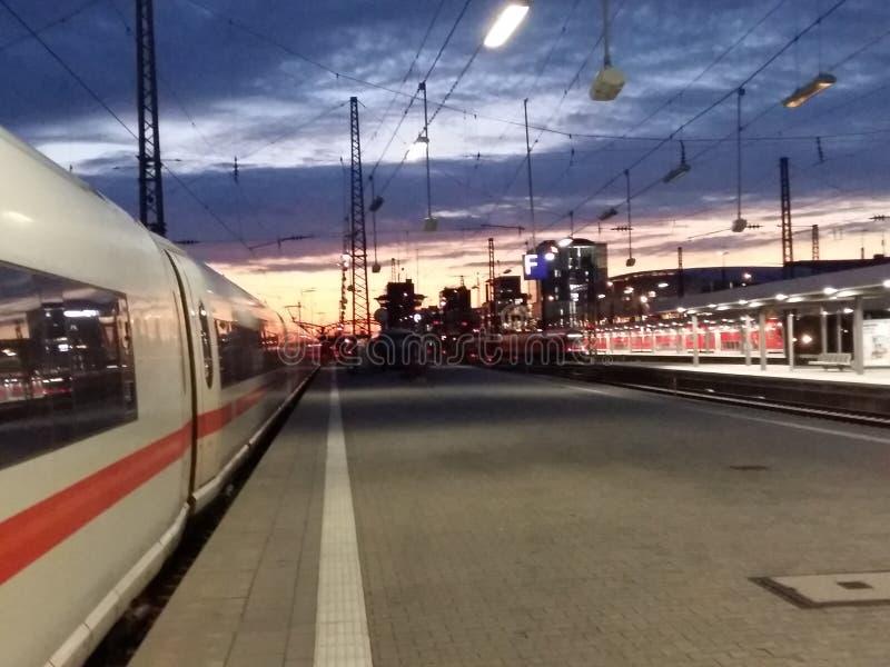 Munich train Station royalty free stock photography