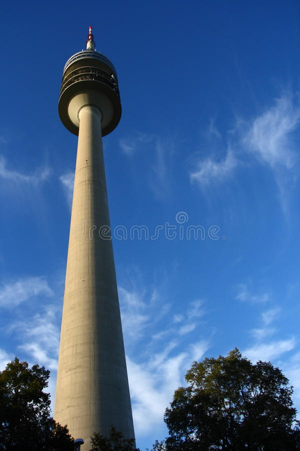 Download Munich tv tower stock image. Image of wave, blue, technology - 22255275